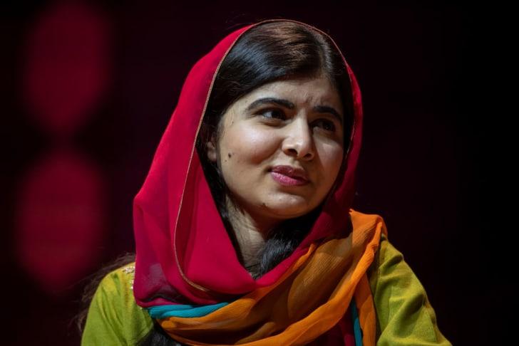 Photo of Malala Yousafzai.