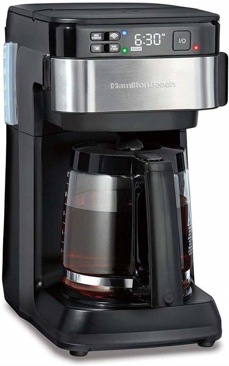 A smart Hamilton coffee maker