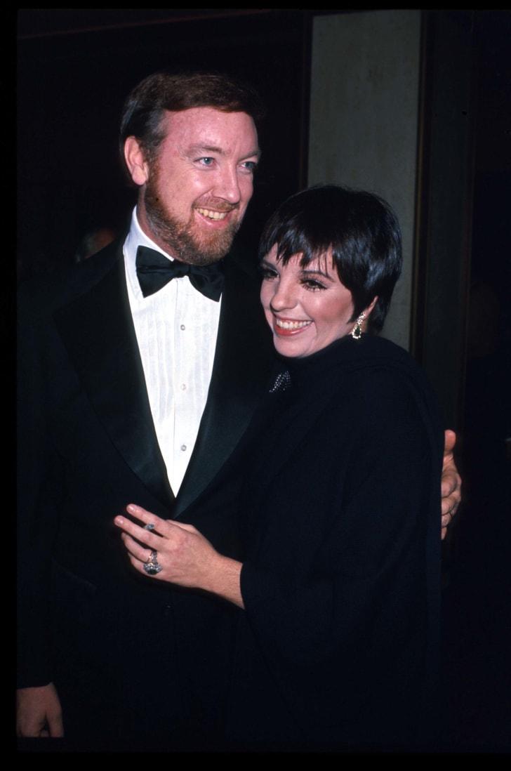 jack haley jr. and liza minnelli in 1975