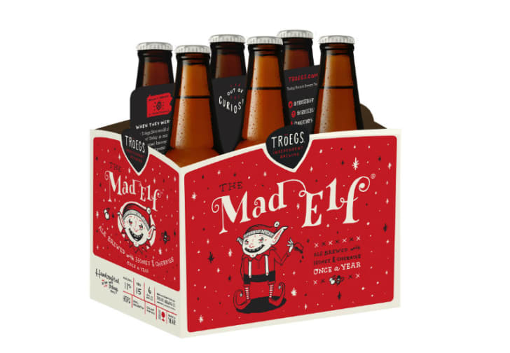 Tröegs Independent Brewing Mad Elf beer is pictured