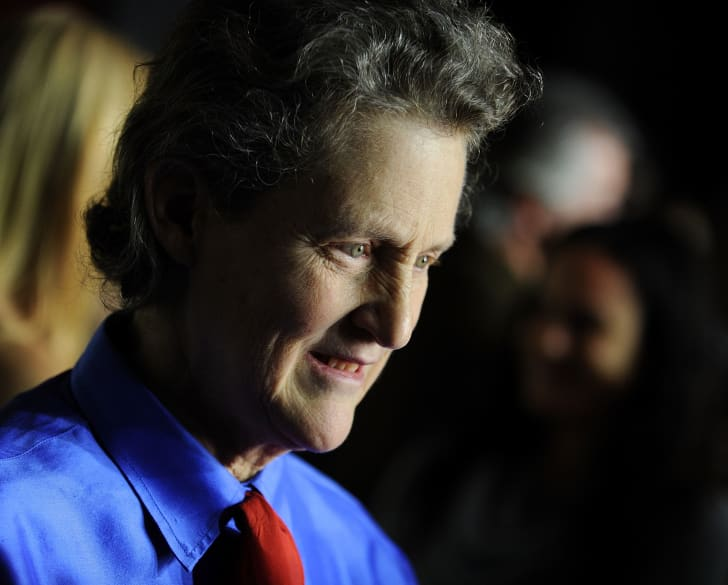 Dr. Temple Grandin attends the premiere of Temple Grandin in 2010.