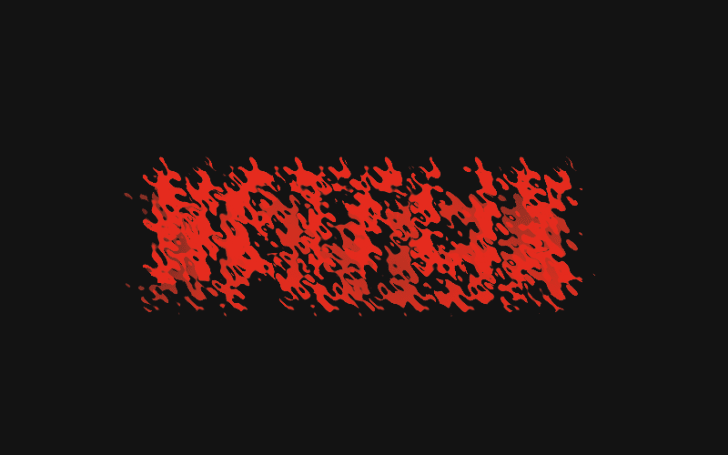 distorted logo