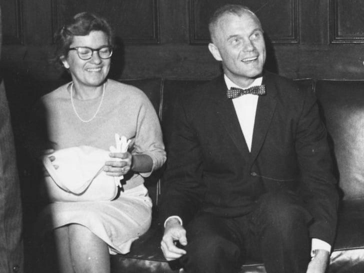 Vera Rubin with John Glenn