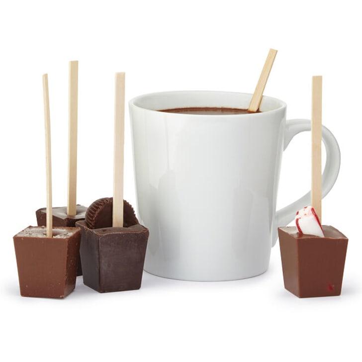 Hot chocolate on a stick.