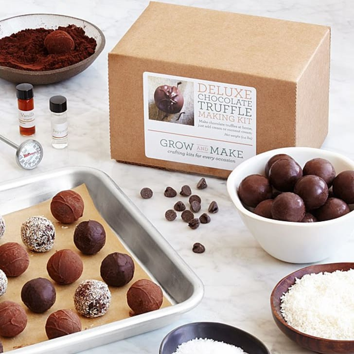 A kit to make truffles at home.