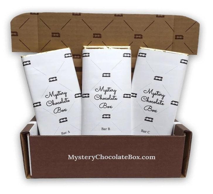 Mystery chocolate bars