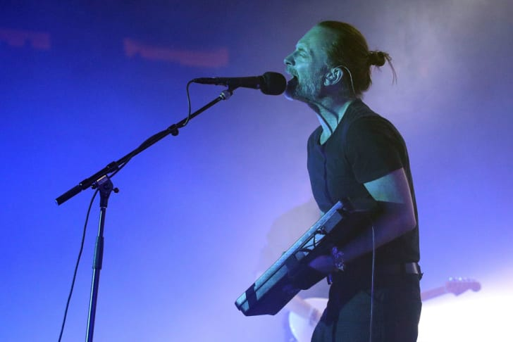 Thom Yorke of Radiohead performs at New York City's Madison Square Garden in 2018.