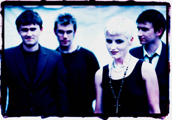 The Cranberries at Woodstock in Saugerties, New York in 1994.