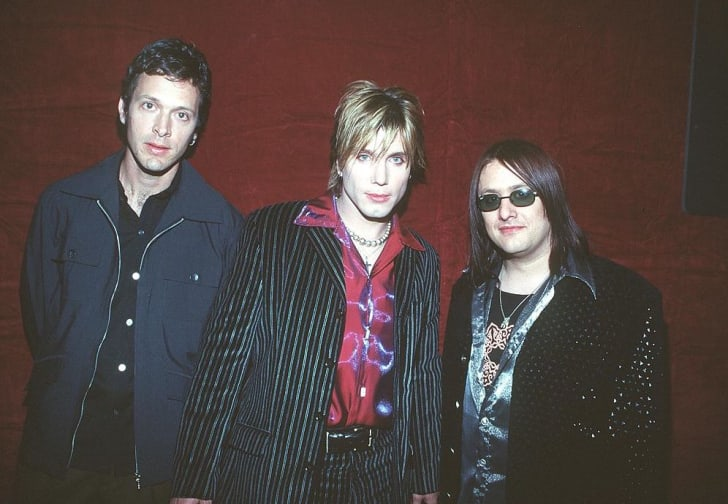 The Goo Goo Dolls attend the 1999 American Music Awards in Los Angeles.