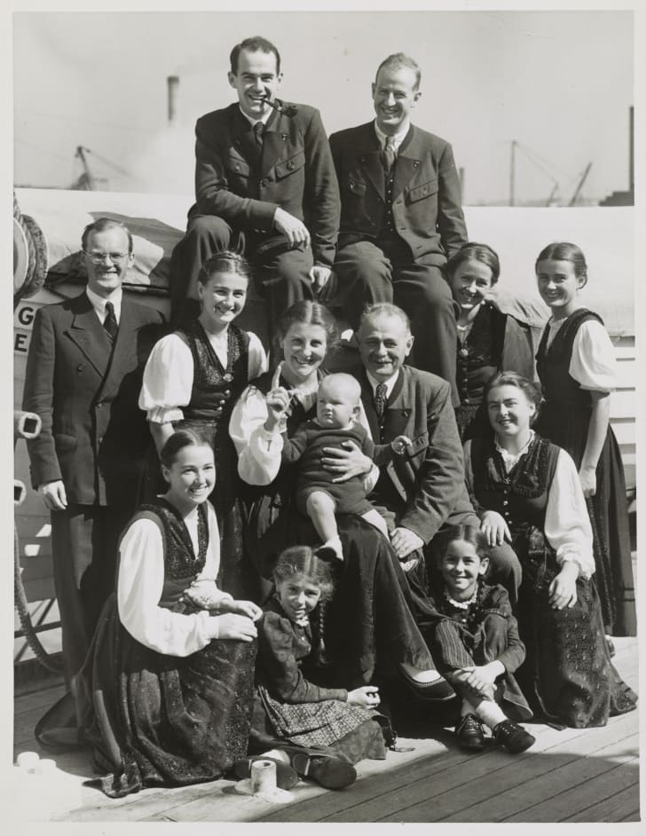 von trapp family in 1939