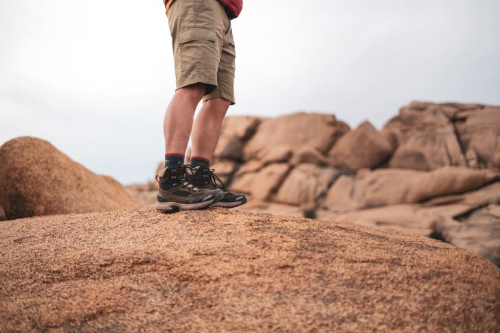 The new pair of Vasque's hiking boots for men