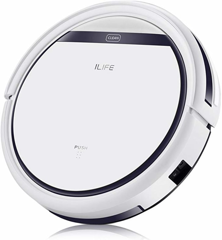 The ILIFE robot vacuum