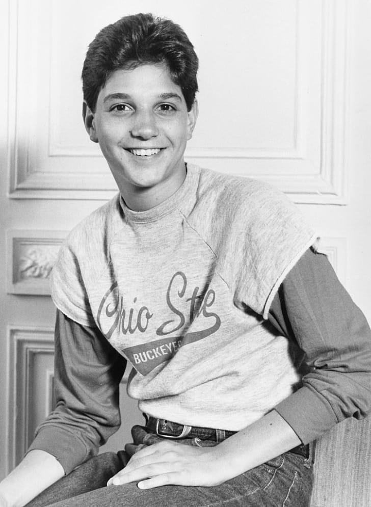 Portrait of The Karate Kid star Ralph Macchio in 1984.