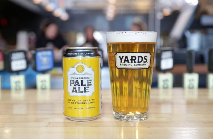 Yards Pale Ale is pictured.