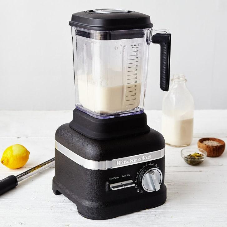 A KitchenAid blender from Sur La Table
