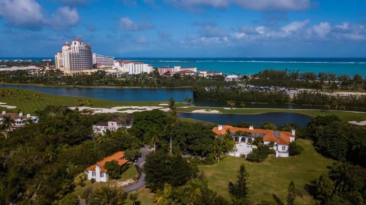 prince edward and wallis simpson bahamas mansion aerial view