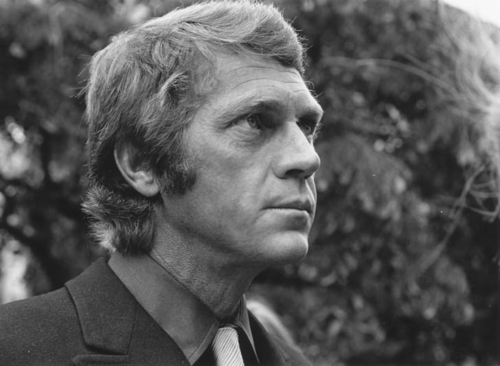 Actor Steve McQueen is pictured in London, England