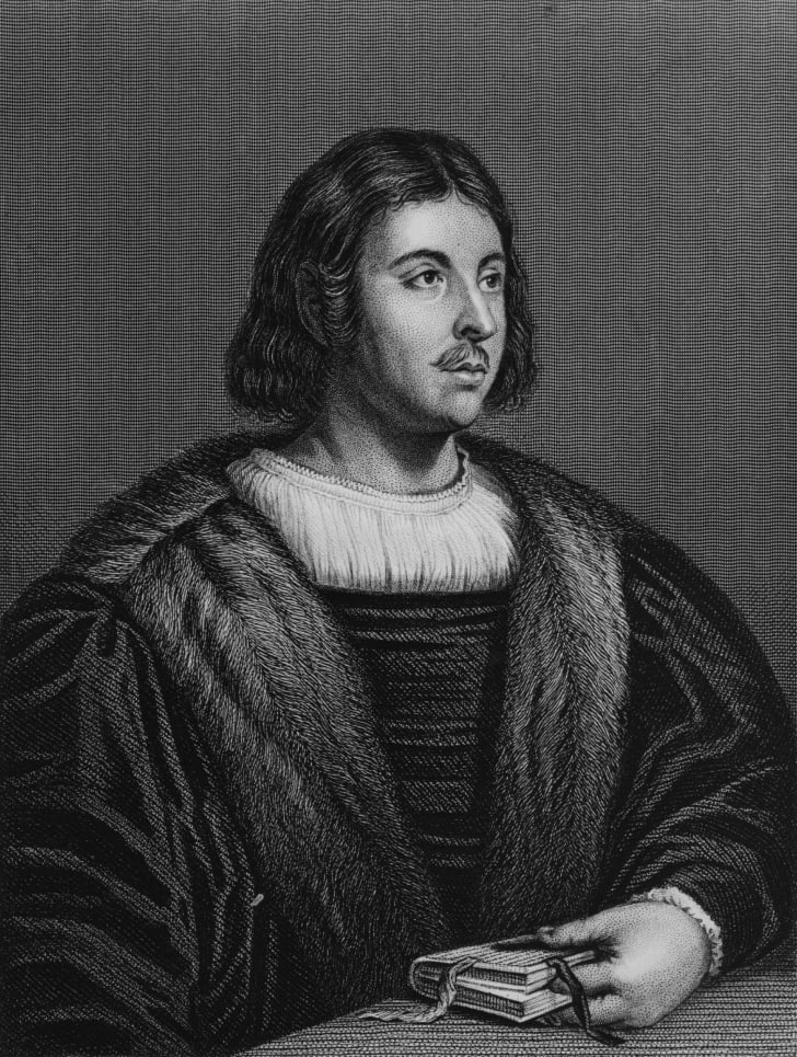 Portrait of Giovanni Boccaccio.