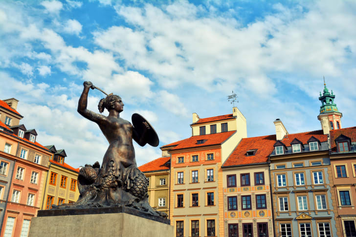 Mermaid Statue.