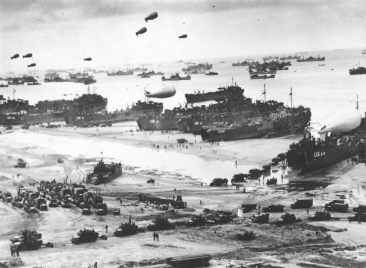 D-Day Landing.