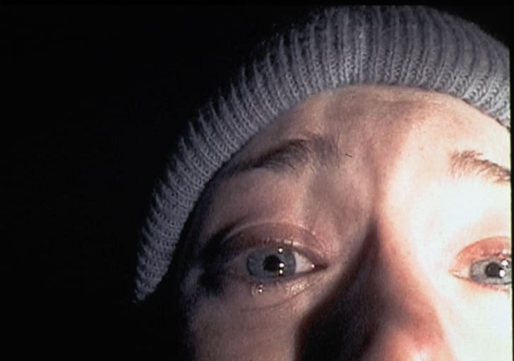 A production still from 'The Blair Witch Project.'