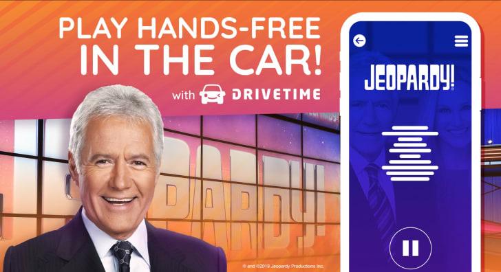 Jeopardy! Drivetime app