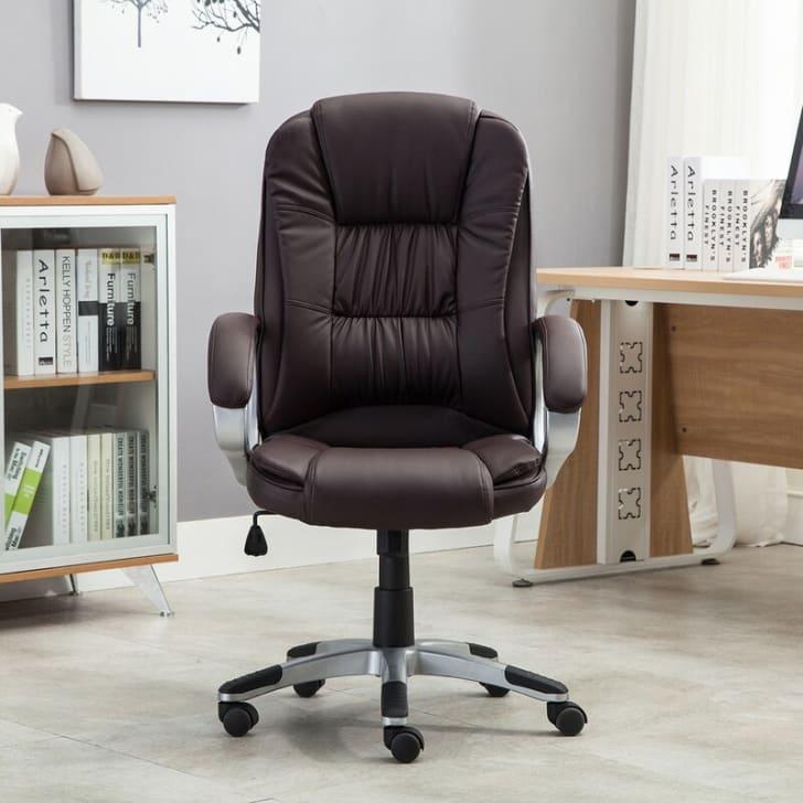 An office chair from Wayfair.