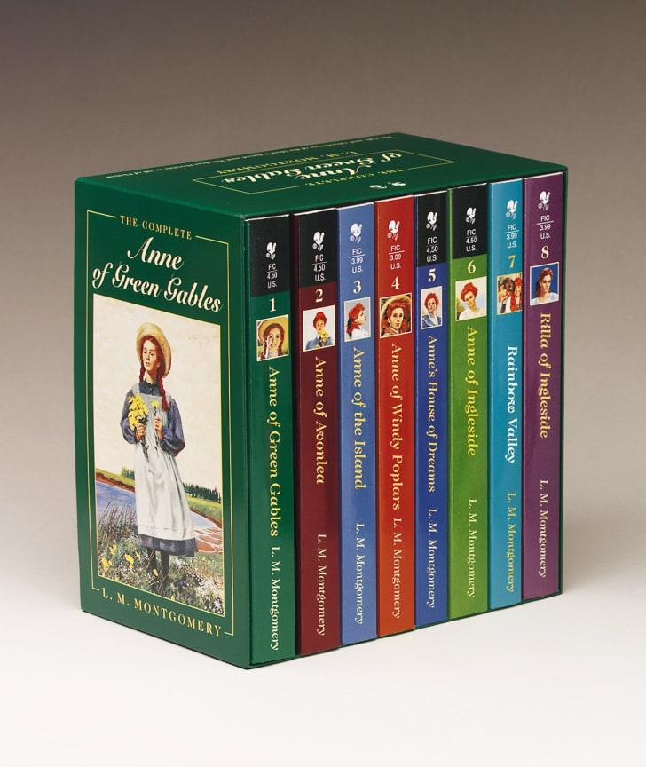 The complete set of Anne of Green Gables