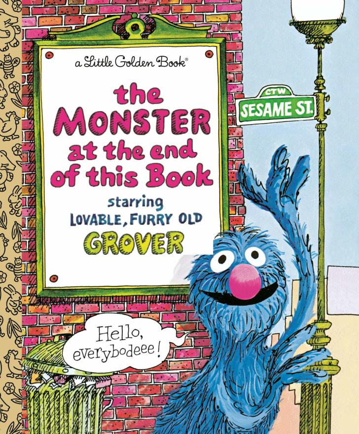 The Monster at the End of this Book children's story.