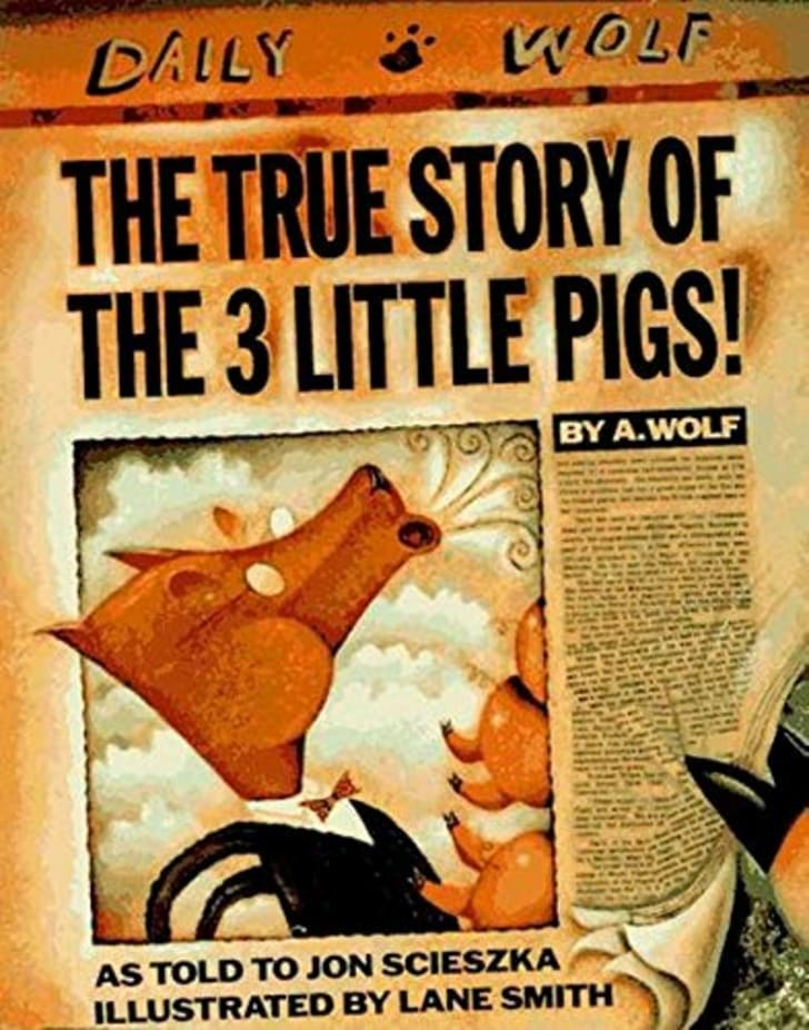 The True Story of the Three Little Pigs Book
