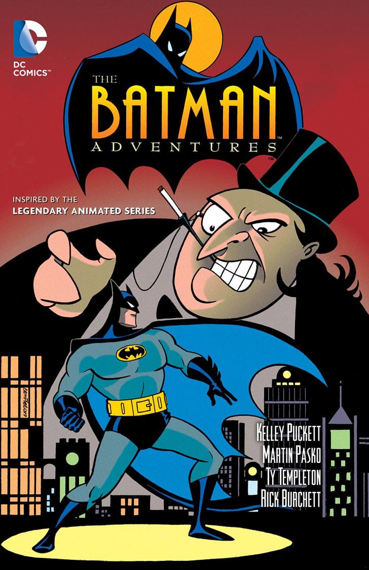 Batman Adventures books.