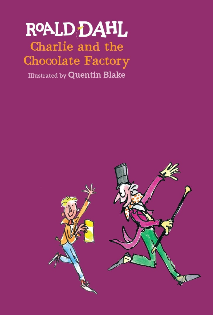 Charlie and the Chocolate Factory book.