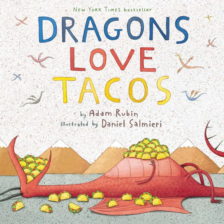 Dragons Love Tacos book.