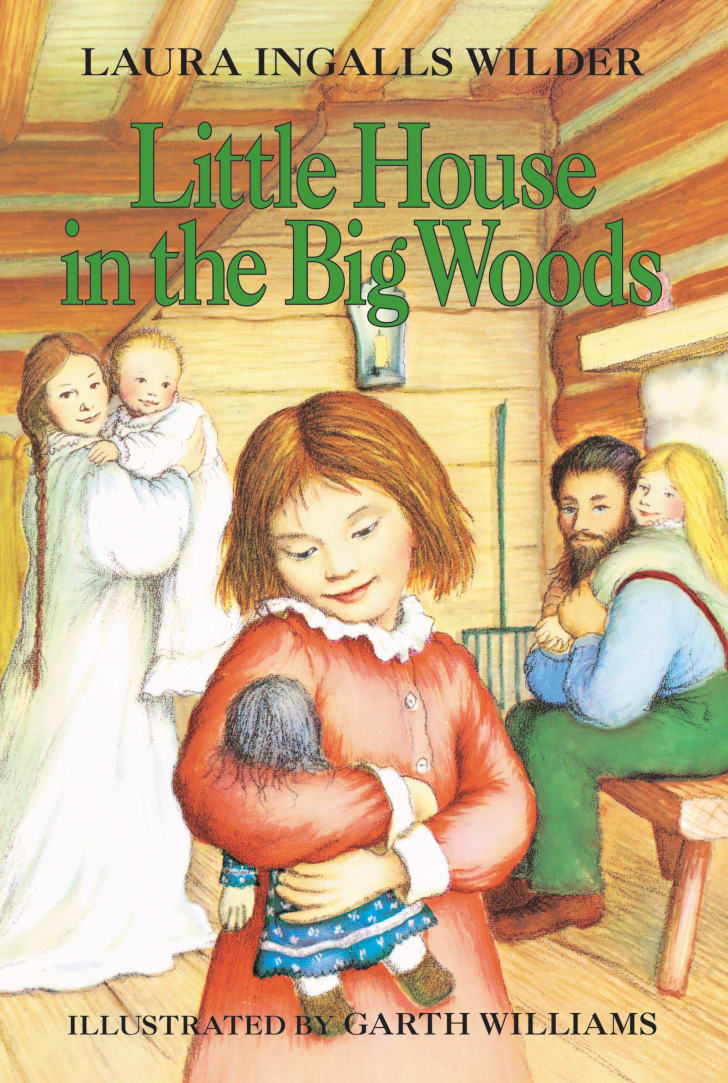 A Little House in the Big Woods book.