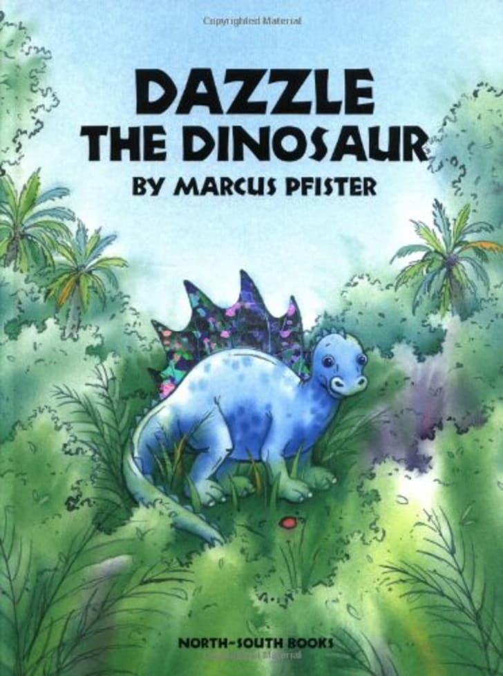 Dazzle the Dinosaur book.