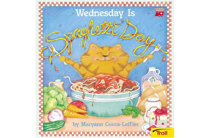 Wednesday Is Spaghetti Day book on Amazon.