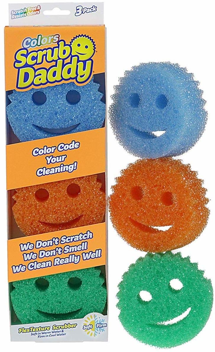 Scrub Daddy sponges.
