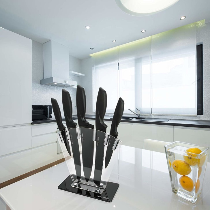 A Home Hero knife set.