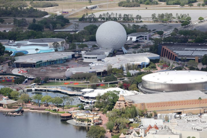 A look at Disney World in Orlando, Florida.