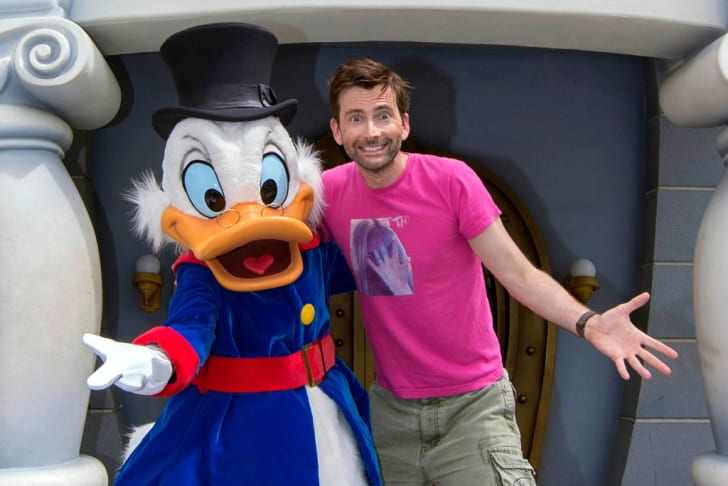 Scrooge McDuck and David Tennant.