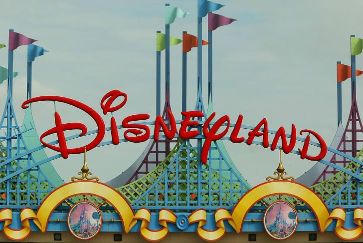 The sign at Disneyland.