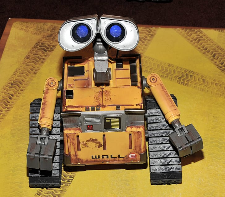 A photo of Disney's Wall-E.