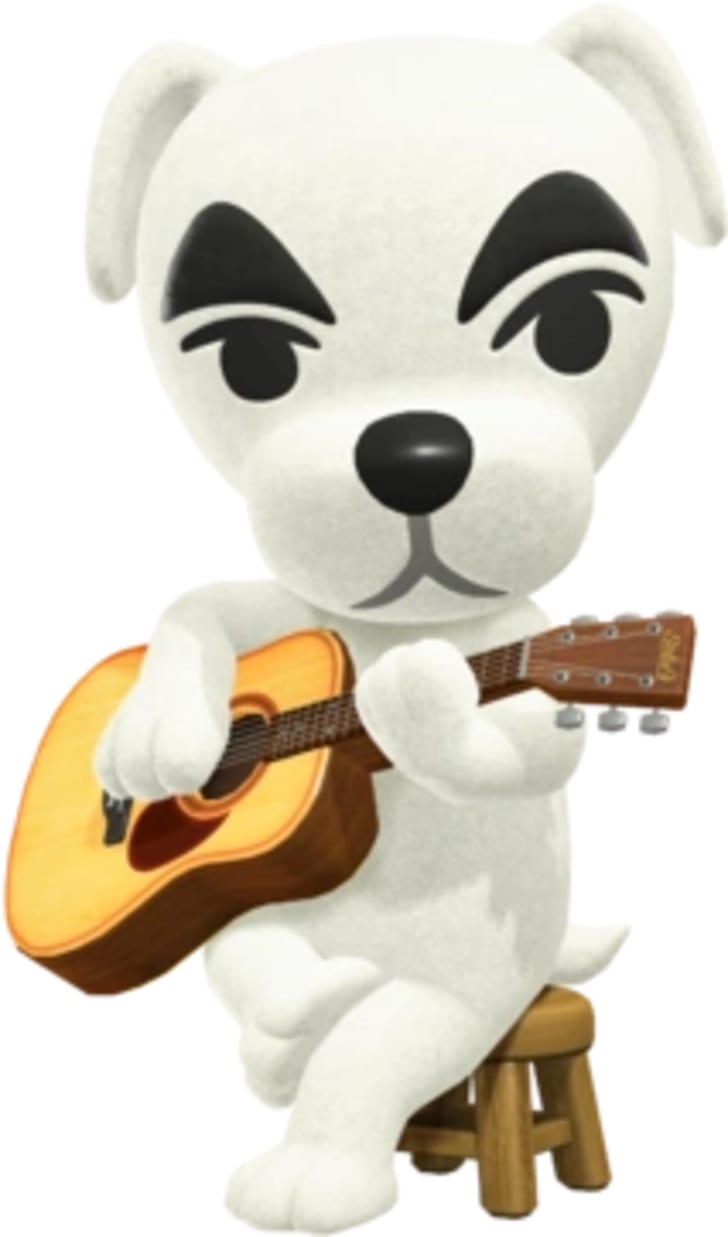 K.K. Slider with his guitar