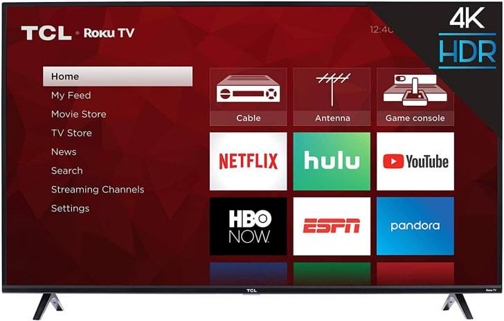 A 50-inch smart tv.