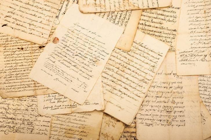 Old handwritten letters