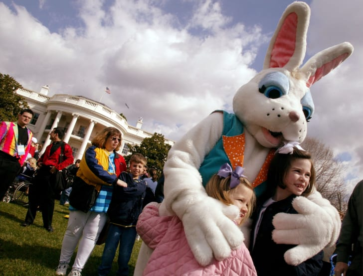 Easter bunny at the White House.