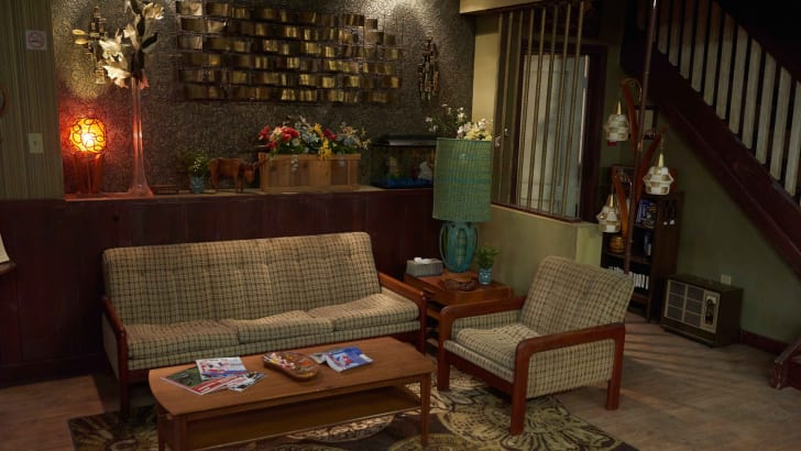 schitt's creek rose motel lobby