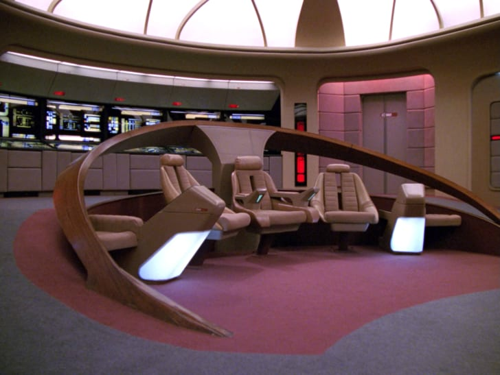 star trek's uss enterprise bridge