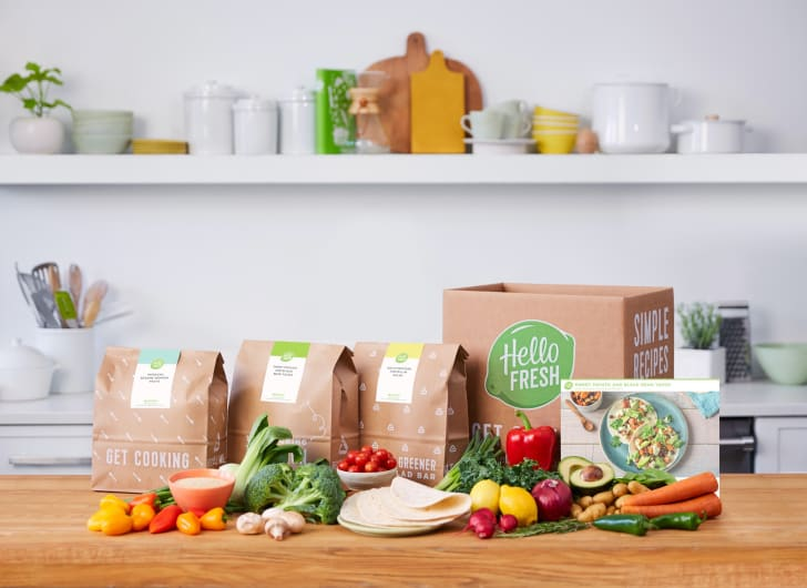 A delivery from HelloFresh