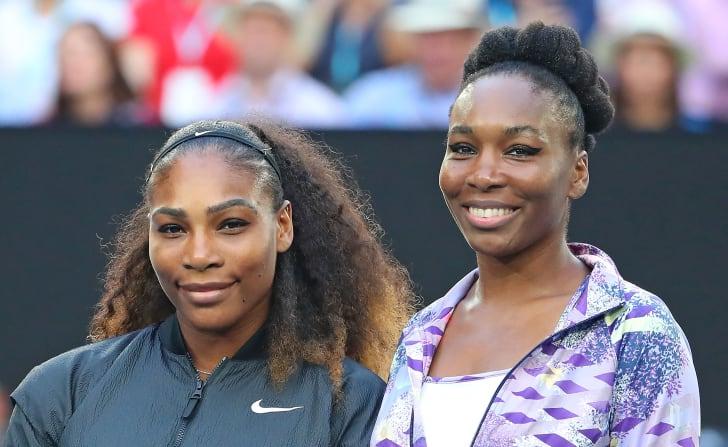 Venus and Serena Williams.